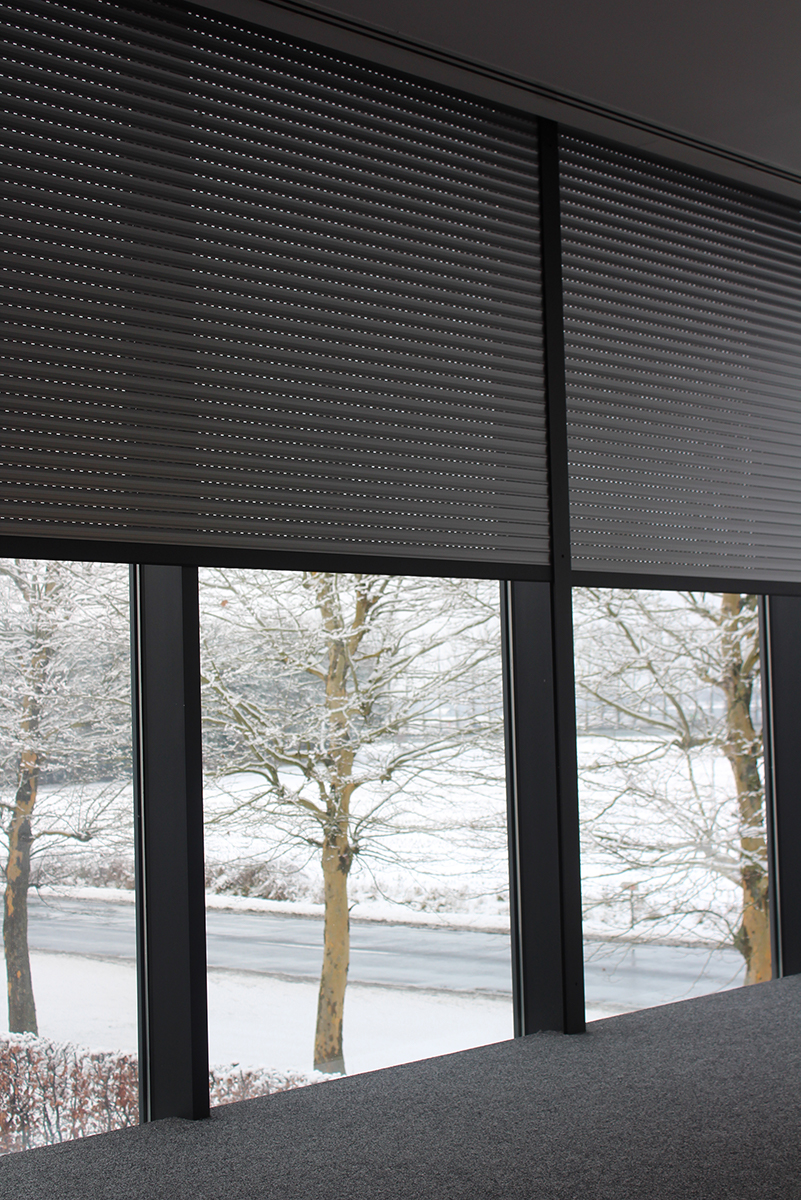 Building Shutter Systems Rolluiken Kantoor Winter