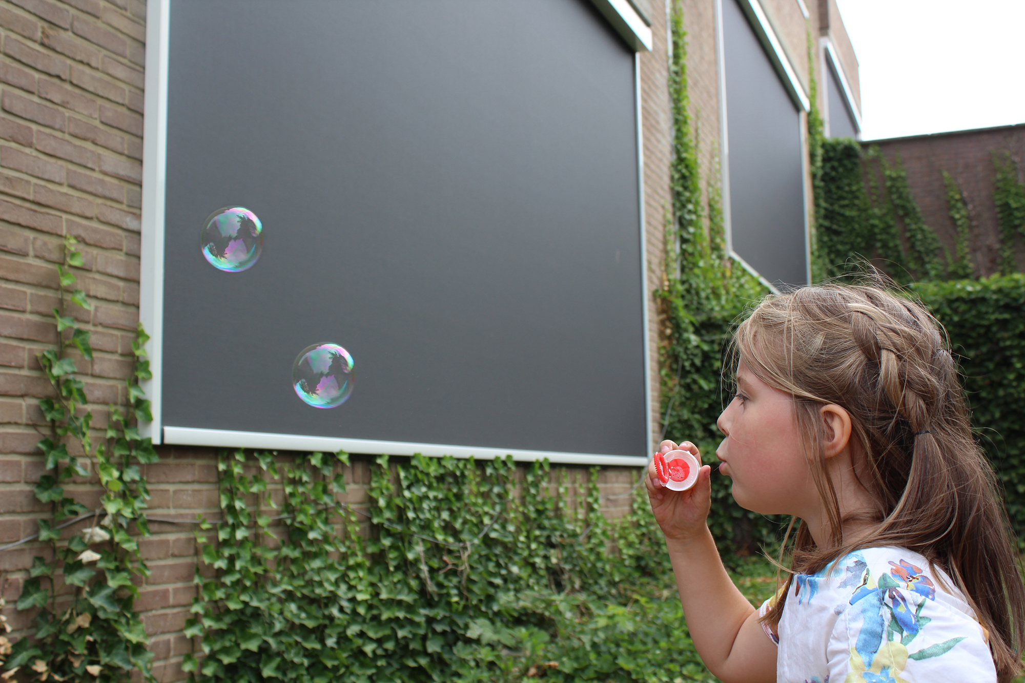 Building Shutter Systems Screens Buiten Zonwering School